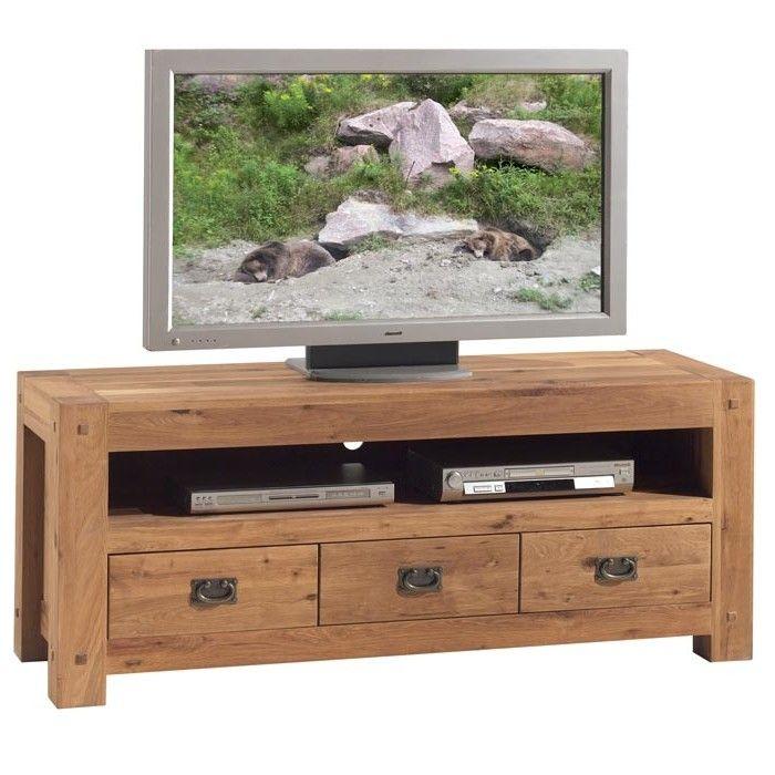Pier Import 529 00 En 2020 Meuble Tv Bois Meuble Tv Meuble Tele Bois