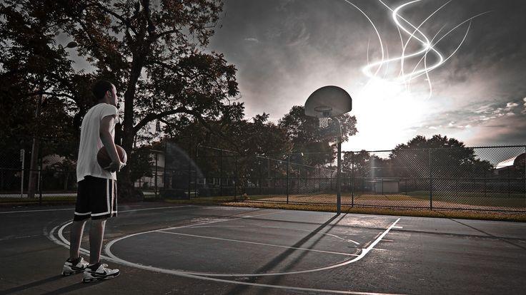 Drew hatte immer ganz alleine auf den Straßenplätzen im Park gespielt und geübt …   – True Legend, Mike Lupica, Nathan