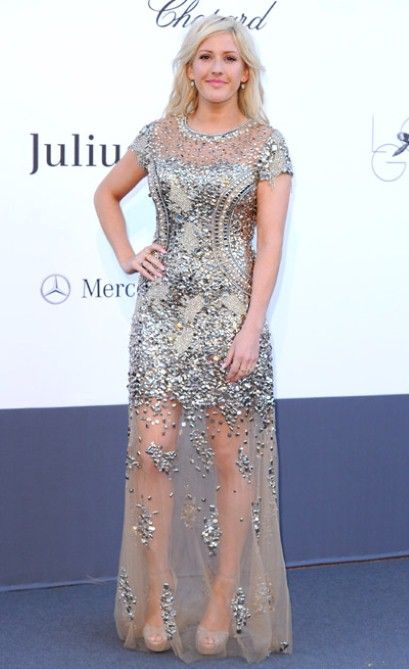 All eyes were on Ellie Goulding in Cannes last week as she opted for a red carpet dress more suited to a Monaco-residing heiress than a typically-trainer-clad popstar - but who was the designer behind such a glamorous gown?