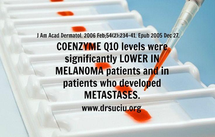 Picture Coenzyme Q10, melanoma and metastasis - drsuciu
