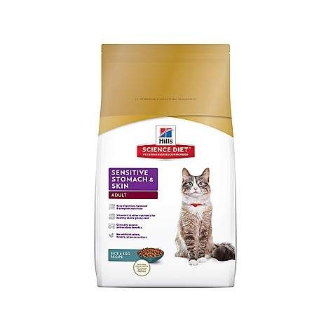 Hill's Science Diet Sensitive Stomach & Skin Adult Dry Cat Food, 3.5 lbs.