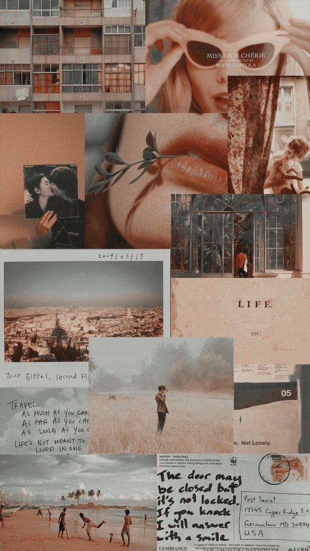 Color Theme Aesthetic Wallpapers Aesthetic Collage Wallpapers Vintage