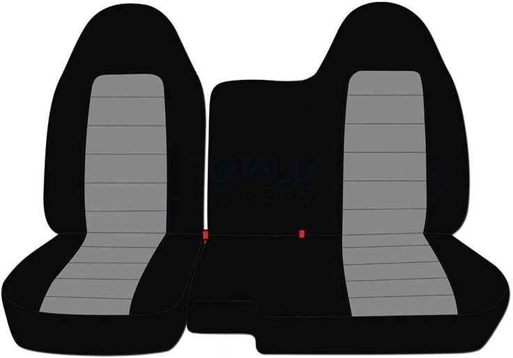Amazon.com: 2004-2012 Chevy Colorado/GMC Canyon Two-Tone Truck Seat Covers (Front 60/40 Split Bench) No Armrest: Black and Orange (21 Colors) 2005 2006 2007 2008 2009 2010 2011 Chevrolet: Automotive