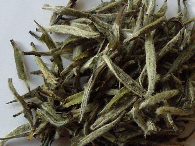 Jasmine silver needle tea, loose-leaf tea from Wegmans.