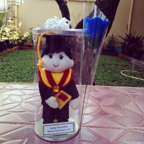 Graduation doll for gift