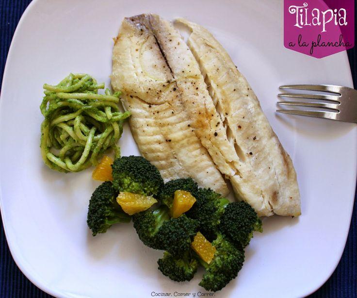 Filete de Tilapia a la Plancha. Filete de #Tilapia a la Plancha, envuelto en papel aluminio. #Receta Fácil y nutritiva.