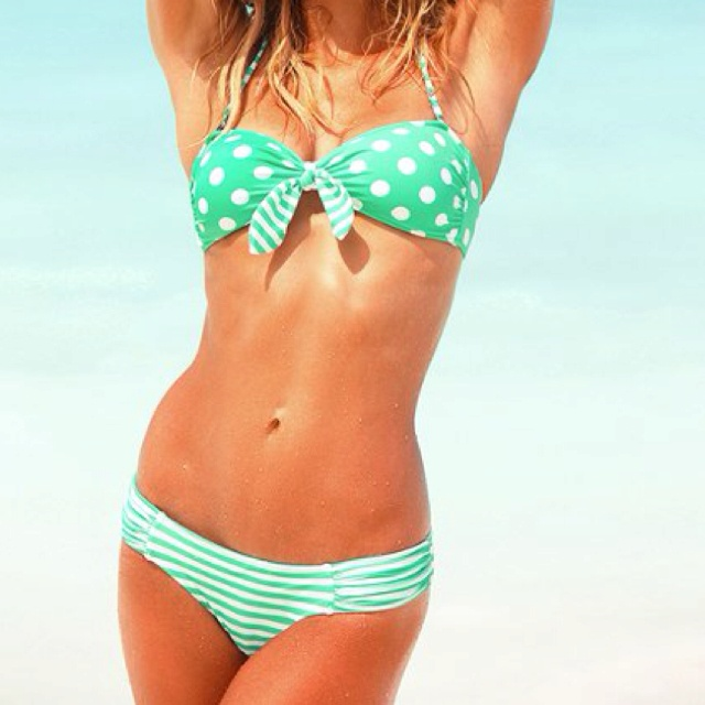 I WILL be in this by summer! Cute!