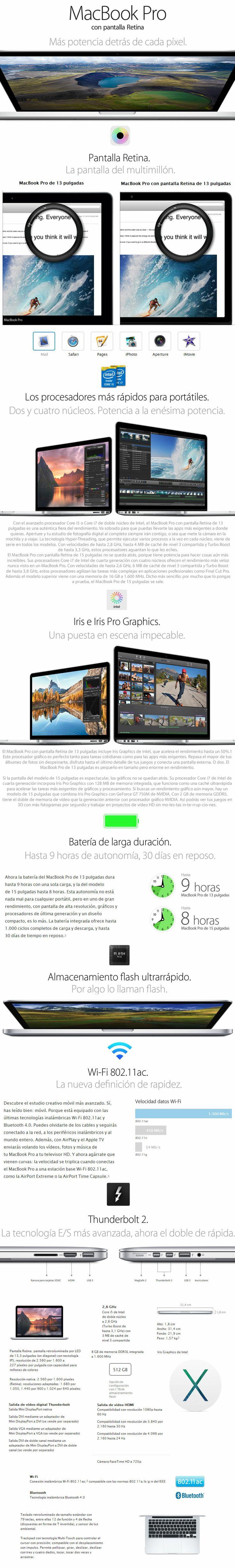 compra de apple macbook pro me866ll/a en argentina