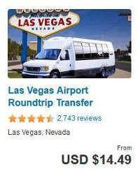 Las Vegas Airport Round Trip Transfer