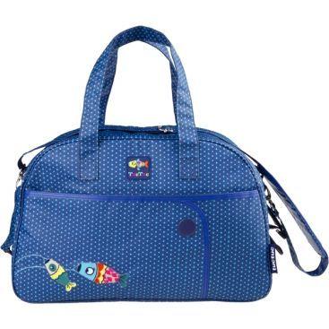 Beautiful baby boy's gift blue baby bag tuc tuc kimono