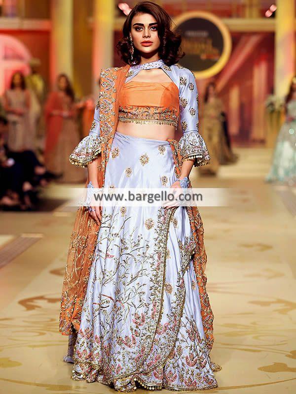 Periwinkle Rust Freesia Stylish Wedding Dresses Pakistani Wedding Dresses Dresses