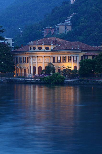 Villa Saporiti, Lake Como, Italy