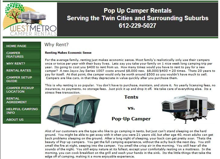 Get Our Best High End Pop Up Camper Rental With All Available Prices That Fit Your Budget It Is Truly A Less Expensive Method Which Intern Suited To