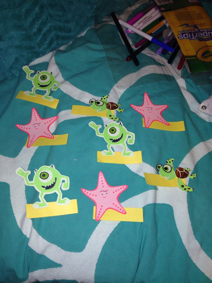 Pixar Door Tags #RA #CA #doortag