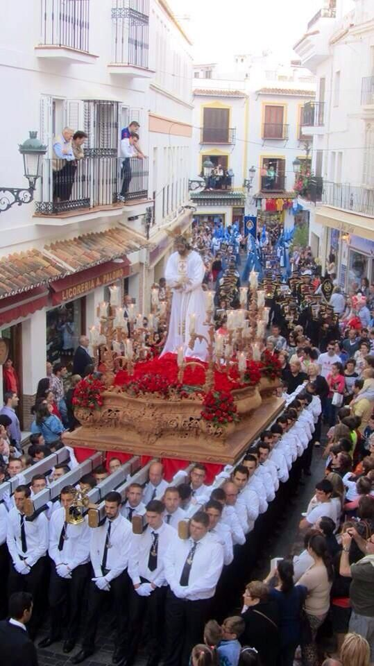 Semana Santa (Nerja, Málaga) / Easter Week (Nerja, Málaga), by @Welcome to Nerja