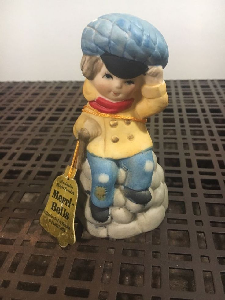 Jasco Merri Bell Tiny Tim Bell Figurine | Collectibles, Decorative Collectibles, Bells | eBay!
