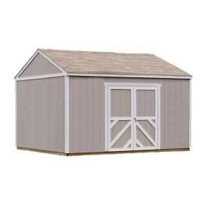 Handy Home Products, Columbia 12 ft. x 16 ft. Wood Storage Building Kit with Floor, 18219-8 at The Home Depot - Mobile