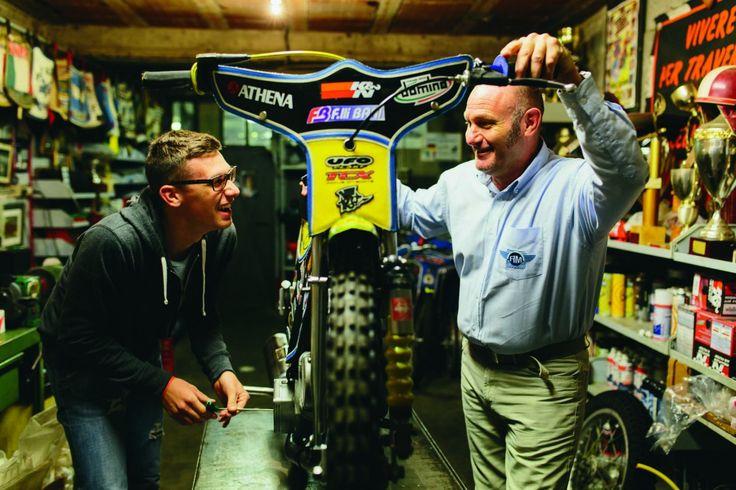 Paco e Armando Castagna- Riders Magazine