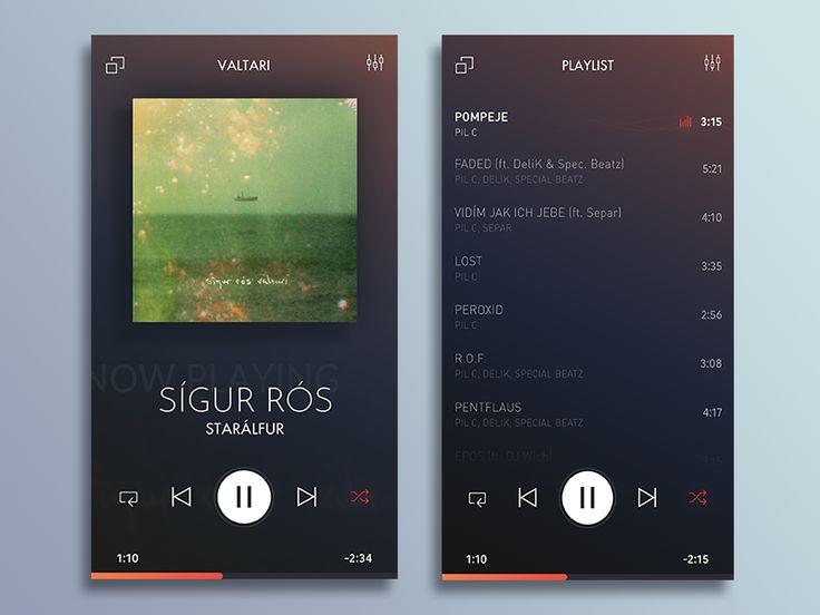 Music App by Lukáš Oslzla