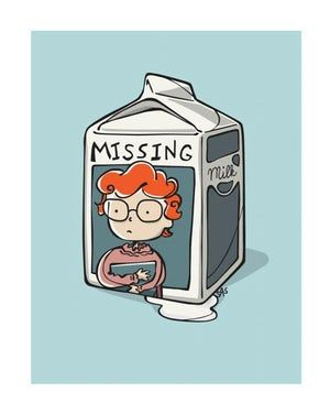 Milk Carton is listed (or ranked) 2 on the list An Ode to Barb on Stranger Things in Fan Art Form