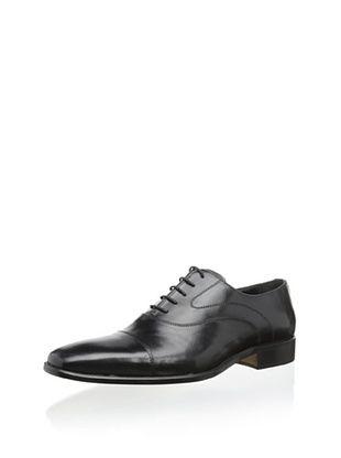 50% OFF Gordon Rush Men's Merritt Cap-Toe Oxford (Black)