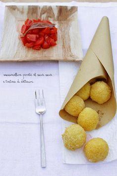 Ritorno alle origini: mozzarelline panate di cous cous   La cuisine tres jolie