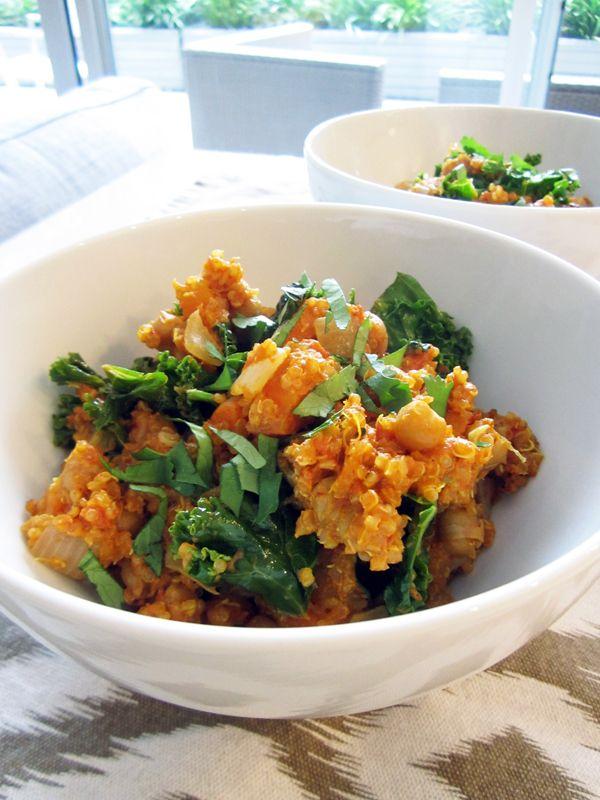 Quick & Easy Indian Curry Quinoa #vegan