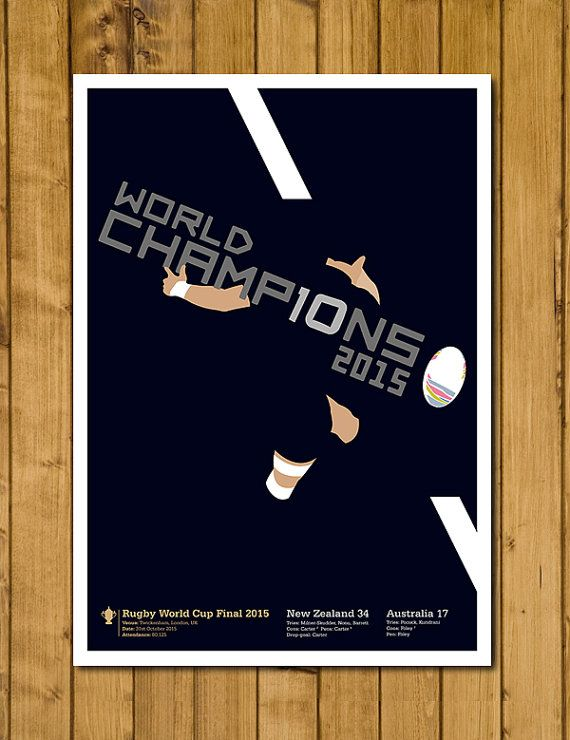 New Zealand Rugby  Rugby World Cup 2015  Dan by headfuzzbygrimboid