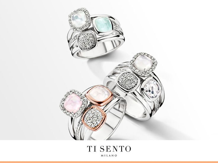 Every ring from TI SENTO matches with all kinds of bracelets and necklaces. With these you can make endless combinations!