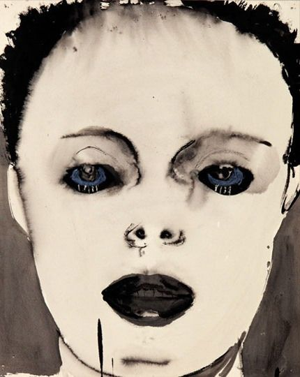 Marlene Dumas : From, The The Image as Burden retrospective exhibition at the Tate Modern. London.