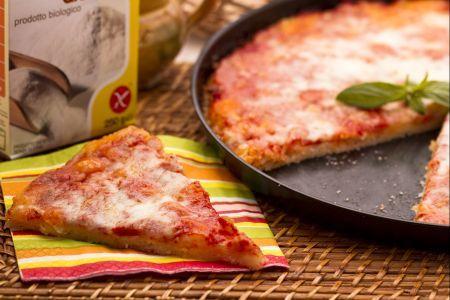 Pizza con lievito senza glutine