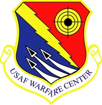 Nellis Air Force Base, #USAF Warefare Center logo  #Nevada