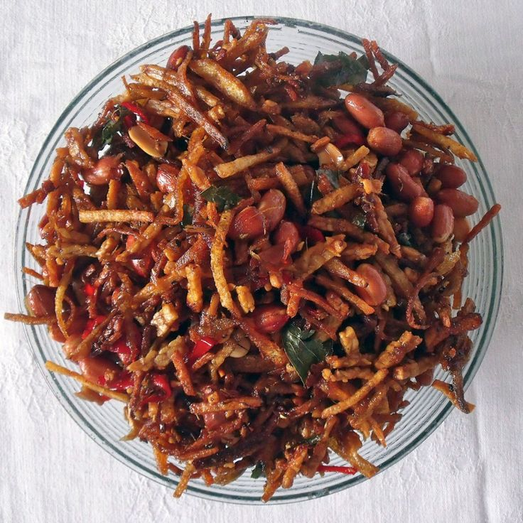 Crispy kering tempe recipe (sweet, sticky tempe)