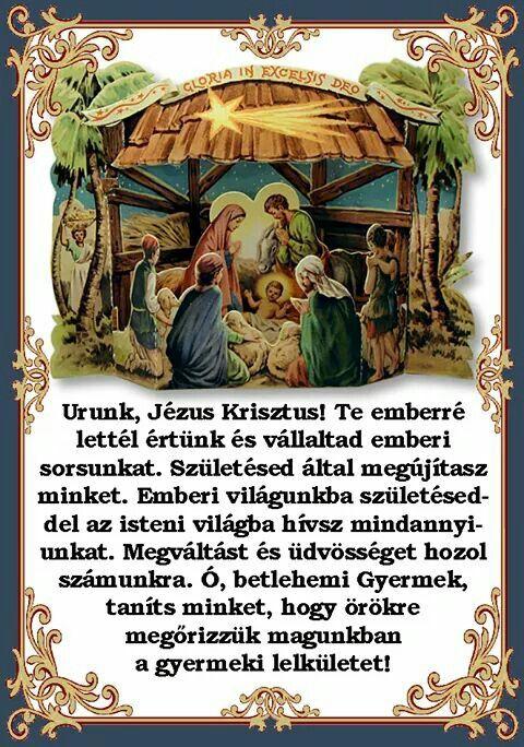 Karácsonyi ima