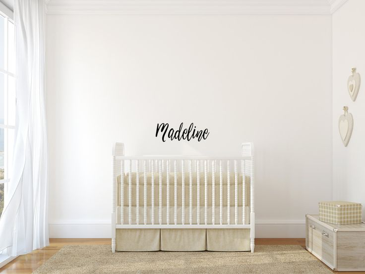 Wall Decal, Name Wall Decal, Nursery Wall Decal, Kids Wall Decal, Office Part 65
