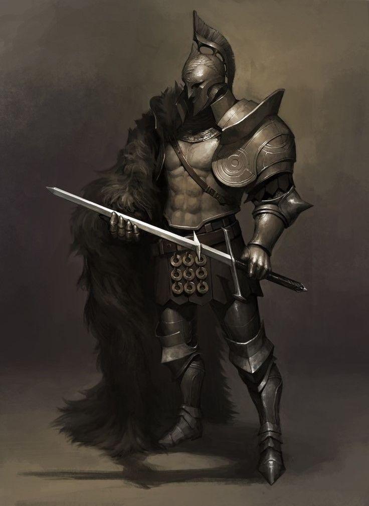 Fantasy Medieval Knight Fun fact: when ...