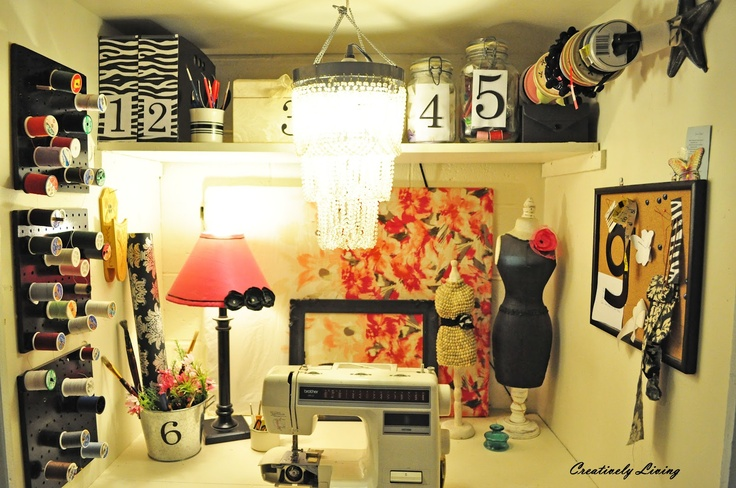 Sewing Room Ideas Pictures