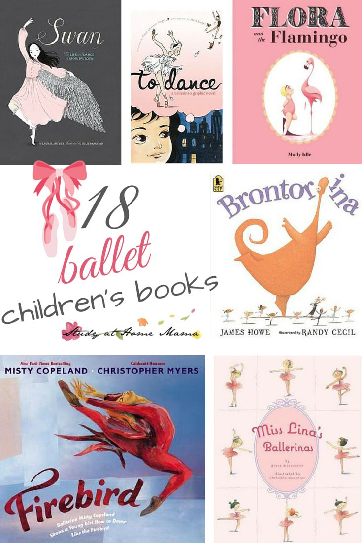 "18 Ballet Children's Books - everything from wordless picture books to nonfiction books, you will find the perfect recommendation for your little ballerina or ""ballerino"""
