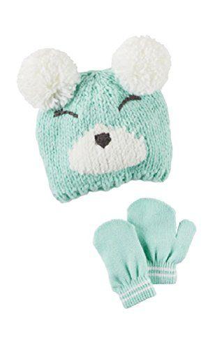 ed7beca8341 Toddler Girls Carter s Crocheted Bear Hat