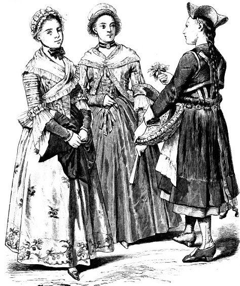 Немецкие платья