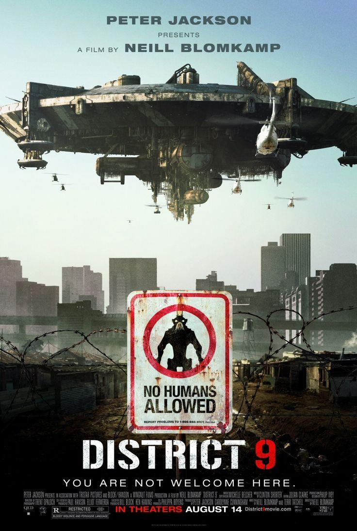 District 9 (2009)   Directed by: Neill Blomkamp / Starring: Sharlto Copley, Jason Cope, David James