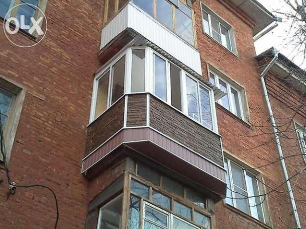 Установка, отделка. ОКОН, Балконов Киев - изображение 1