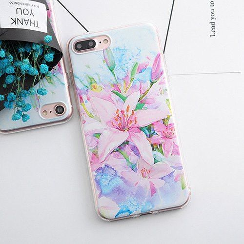Flower Daisy Plants Fruit Cactus Leaves iPhone Case