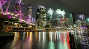 Brisbane will mark the new year with fireworks displays at 8.30pm and midnight. Two new locations Eagle Street Pier and Hamilton Pier.