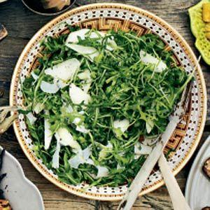 21 februari: rucola in de bonus - Recept - Rucola-peersalade - Allerhande