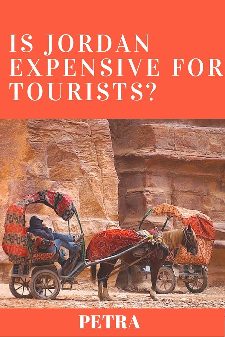 Is a trip to Petra on your bucket list? Ever wonder whether it is expensive to travel to Jordan? Here are our tips and our advice on how to travel to Petra, and how expensive Jordan is for tourists.  #Jordan #Petra #JordanTravelTips #PetraTravelTips #IsJordanExpensive