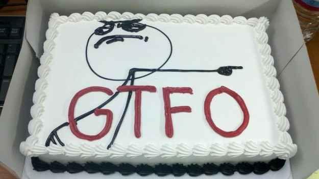 Dito o suficiente. | 24 bolos de divórcio hilários que são até melhores do que bolos de casamento