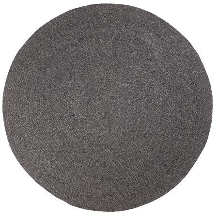 Braid Weave Rug in Charcoal