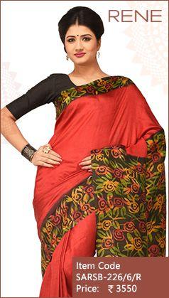 #ReneIndia #Batik #Print #Handloom #ethnic #Kolkata #Bengali #Bengalee #westbengal #Traditional #FestiveWear #Silk #Saree available on #Flipkart #Paytm #Snapdeal