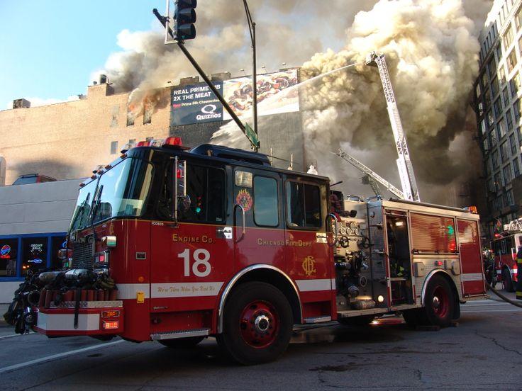 Chicago Fire Department Engine 18 Computer WallpaperWallpaper
